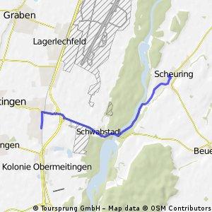 Klosterlechfeld - Scheuring