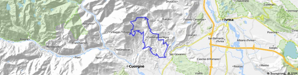 Valle Sacra - Monte calvo