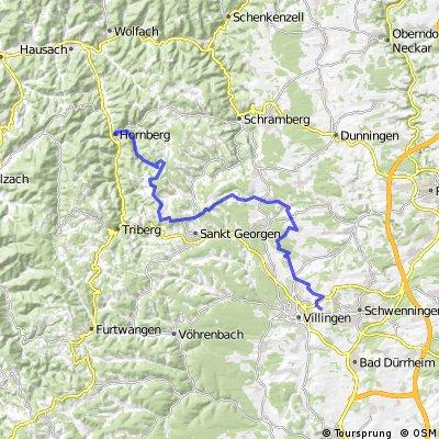 Von VS über Buchenberg und Windkapf nach Hornberg