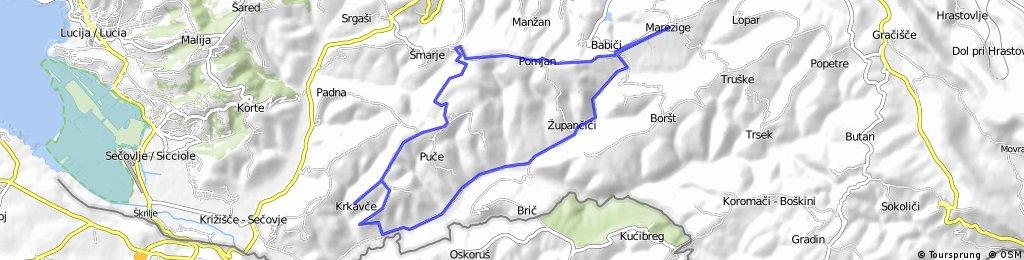 Oživeli Pomjan, kolesarski izlet po slovenski Istri