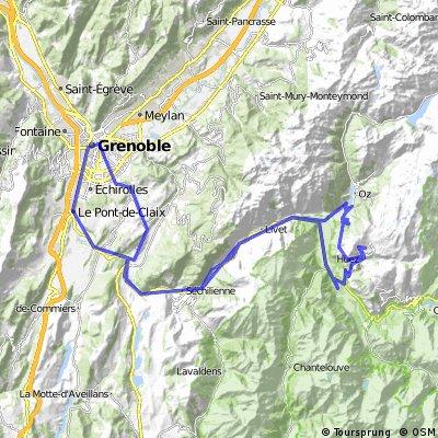 Grenoble - Alp d´Huez - Grenoble