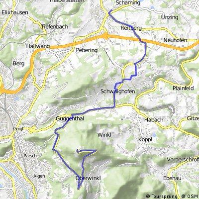 Bergsprint auf den Gaisberg