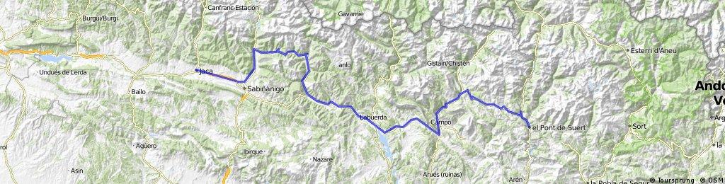 El Pont de Suert - Jaca