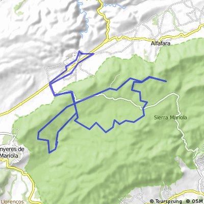 BOCAIRENT-SIERRA DE MARIOLA