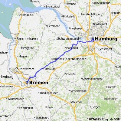 Team WEISSER RING on Tour 2015_1.Etappe_Hamburg - Bremen