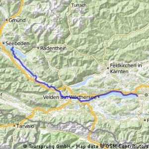 Etappe 2: Millstatt - Klagenfurt