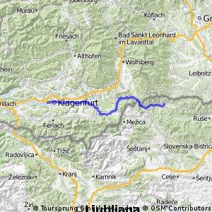 Etappe 3: Klagenfurt - Muta
