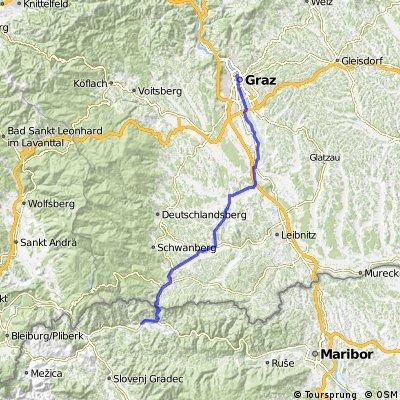 Etappe 4: Muta - Graz