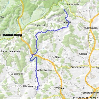 WT über Sulzthal zurück nach Schwebenried