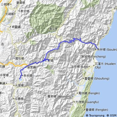 Taroko Gorge to Sun Moon Lake