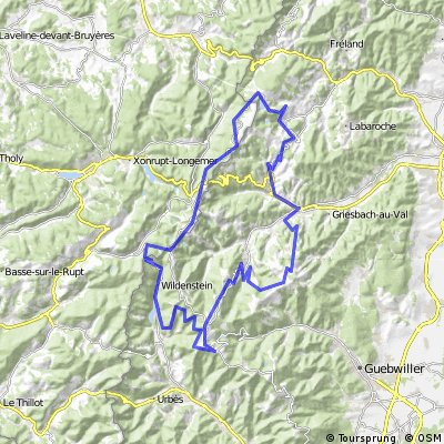 20150629 Munster, France loop 107km 2650m up
