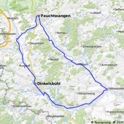 Kleine Wörnitztour