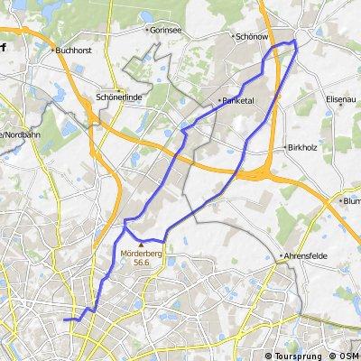 PBerg-Bernau-Buch 45km