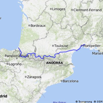 Atlantic to Mediterranean - Bayonne-Lunel 2009