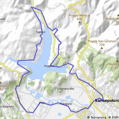 sanse lake loop Sept 3