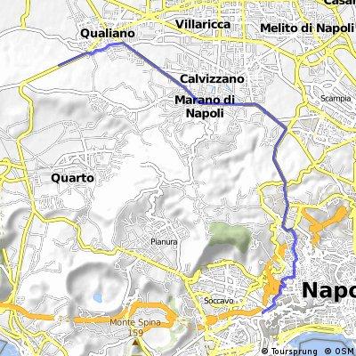 Qualiano - Napoli, Corso Europa