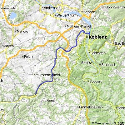 5.Tag Moselkern-Koblenz