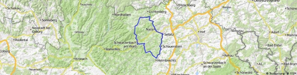 WSV-Scherdel-Frankenwaldtour - 50 km