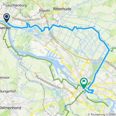 Bremen - Fähre Lemwerder Blockland und zurück