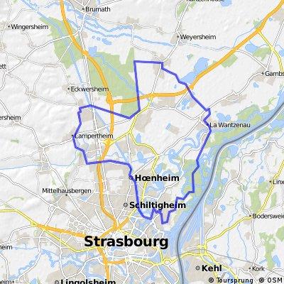CIRCUIT POURTALES 42 km