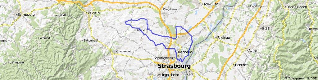 CIRCUIT POURTALES 73 km