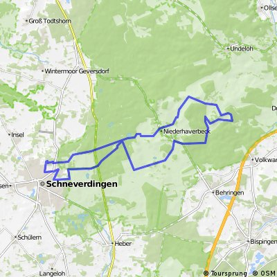 Schneverdingen-Wilseder Berg u. zurück