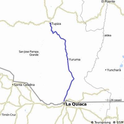 La Quiaca - Tupiza