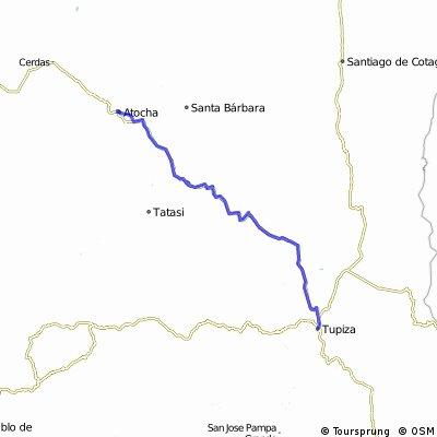 Tupiza - Atocha