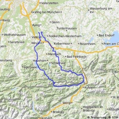 Cyclocross Strecke Tegernsee/Wendelstein