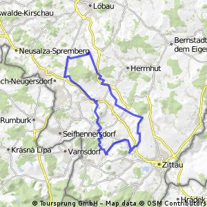 Hainewalde - Kottmarrunde - Hainewalde