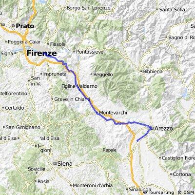 Firenze-Arezzo (Pieve al Toppo)