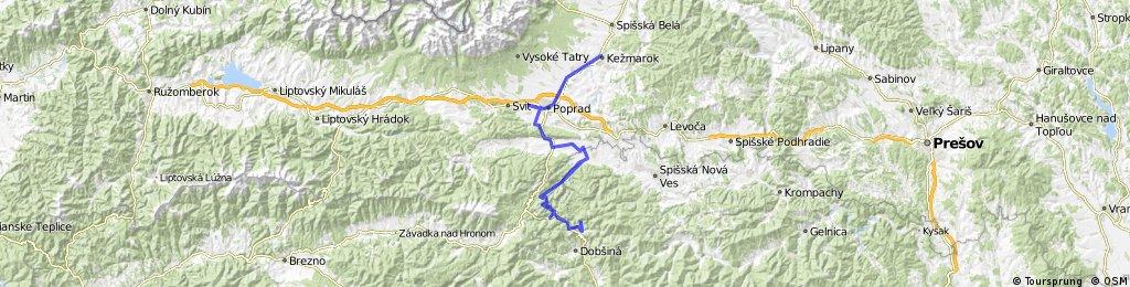 Kezmarok-Poprad-Slovensky Raj-Dedinky