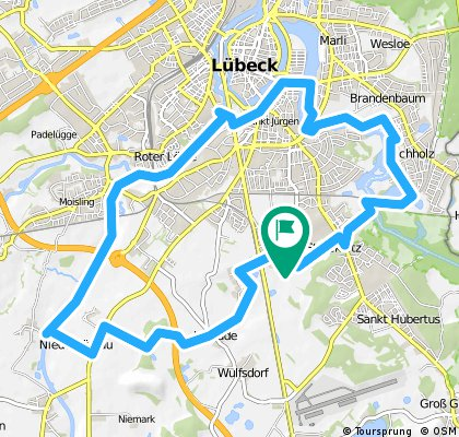 Elbe-Lübeck-Kanal - Wakenitz 2