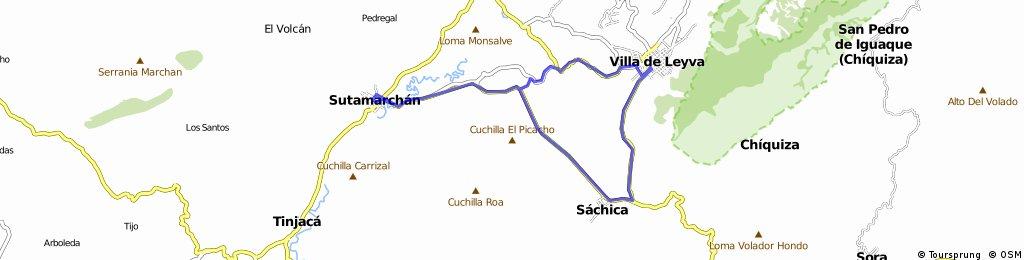 Ruta Villa de Leyva