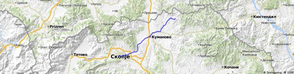 Skopje-Kokino