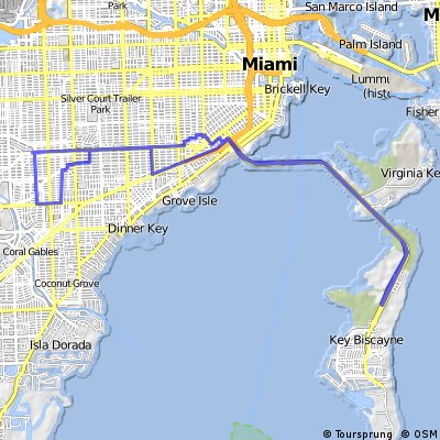 Miami-Mieacle Mile-Key Biscayne