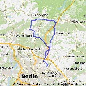 Berlin-Liebenwerder-Wandlitz-Berlin