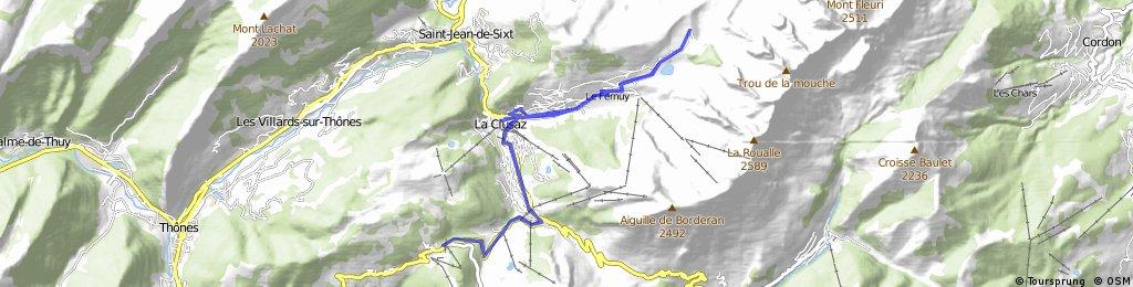 Col des Confins and Col de la Croix Fry