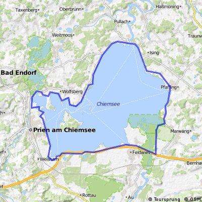 Chiemsee kerülés