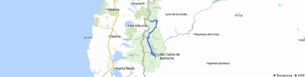 De Hua Hum a Bariloche - Por 7 lagos