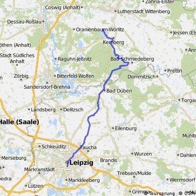 Von Bergwitz nach Leipzig