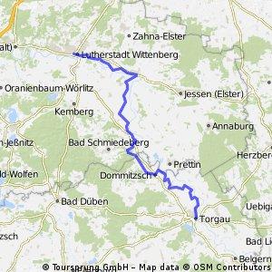 Torgau - Wittenberg