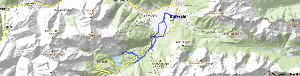 Radtour Blindsee