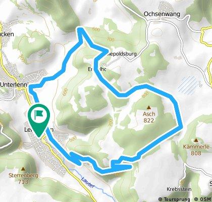 15 km Asch-Umrundung