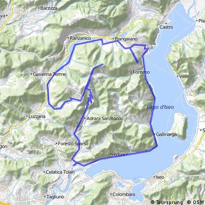 Tour du monté Sicola de Poggio Oro
