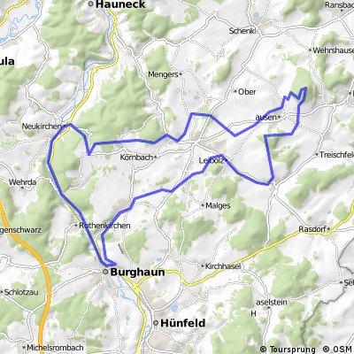 Haunetal - Soisberg - Burghaun