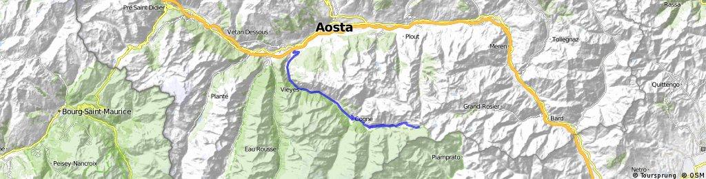 Rifugio di Sogno (above Cogne)