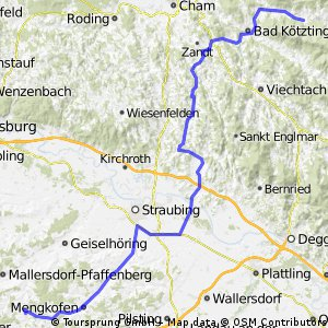 Von Bayerbach nach Arrach