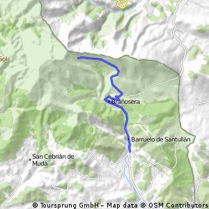 Barruelo - Alto del Golobar - Barruelo
