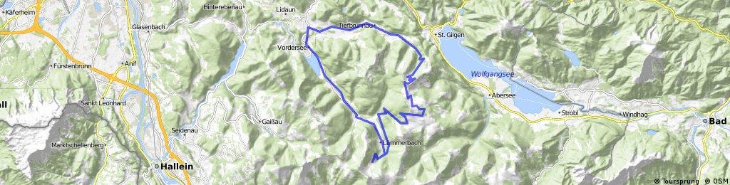 Tiefbrunnau-Illingerbergalm-Gruberalm-Tiefbrunnau